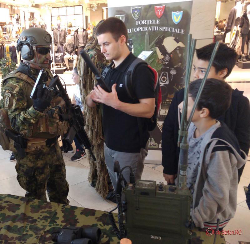 poze fotografii Armata României MALL AFI Cotroceni Ziua Armatei Bucuresti
