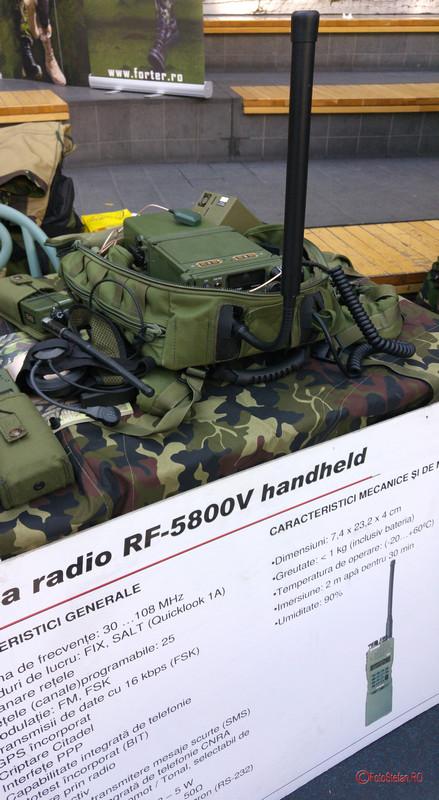 poza statie radio RF-5800V armata romaniei