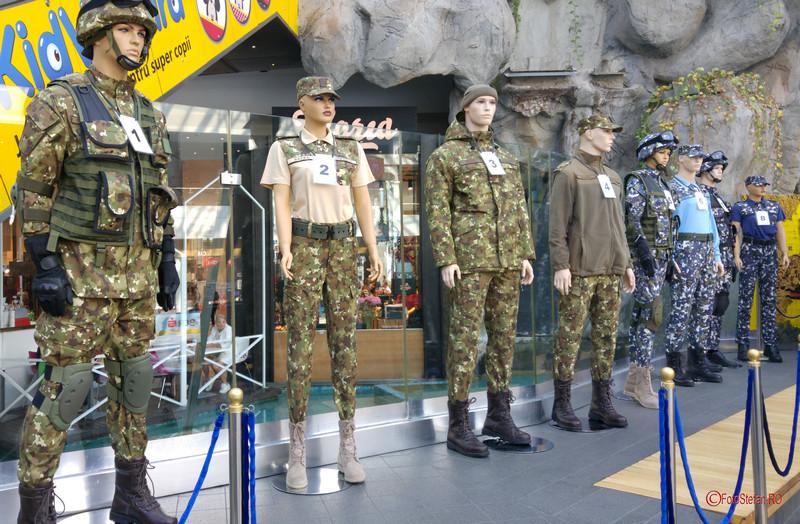 poze foto uniforme militare armata romana mall afi cotroceni