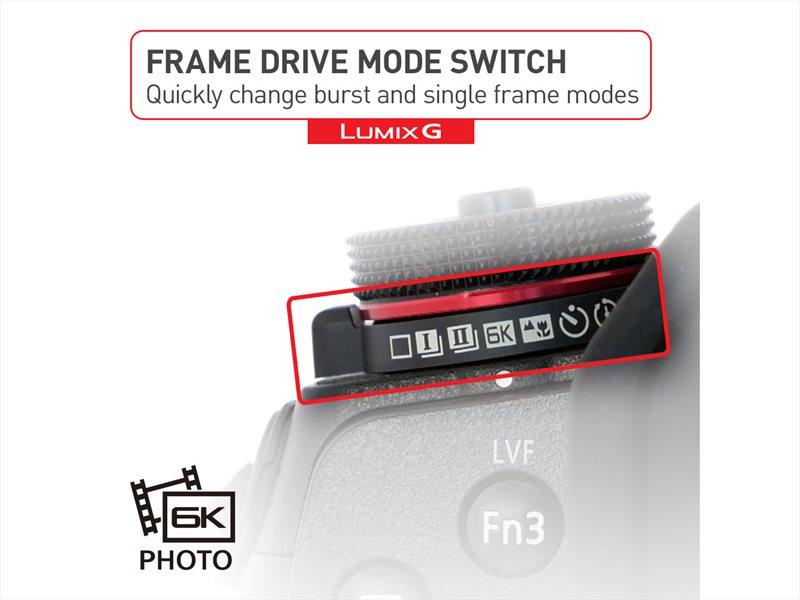 mod foto 6K mirrorless Panasonic LUMIX G9
