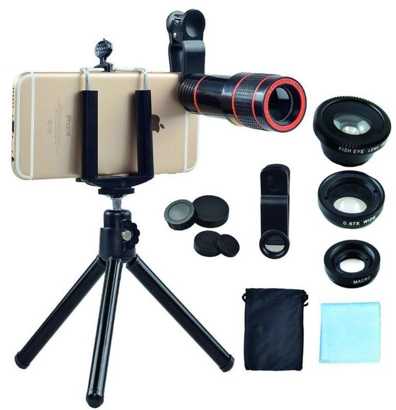 poza Set 4 in 1 lentile profesionale smartphone