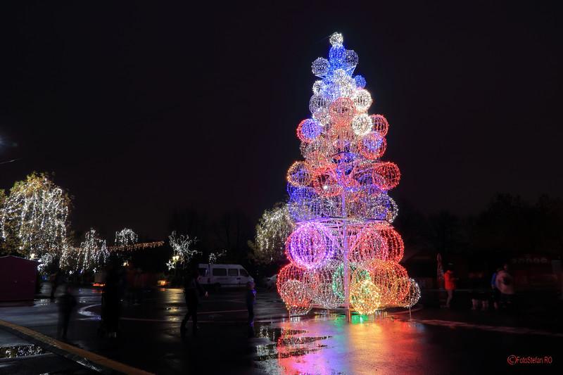 poze luminite lumini craciun bucuresti sector 4 parcul lumea copiilor