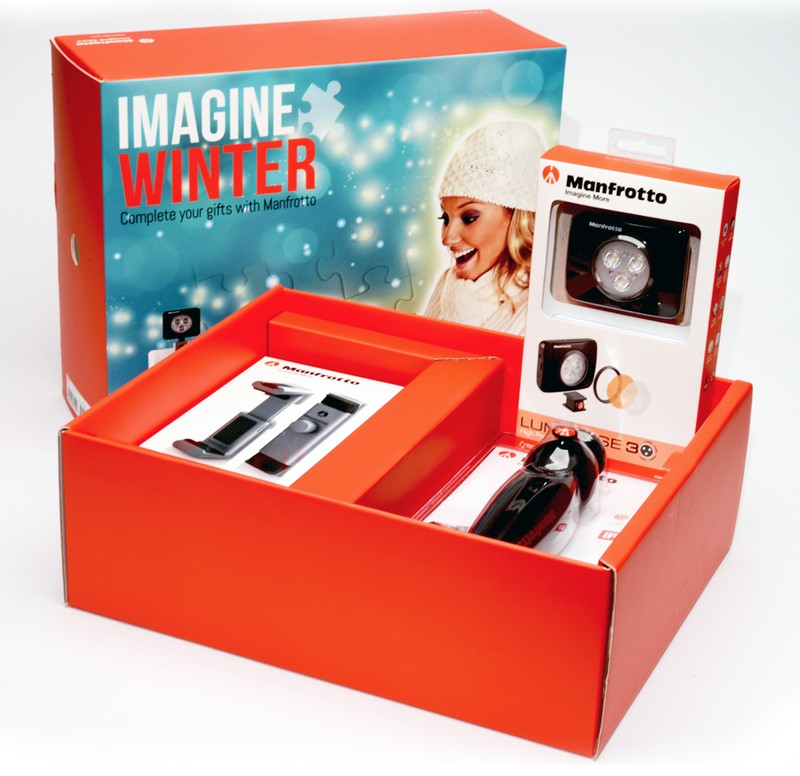 Manfrotto XMAS Kit cadou fotograf poze smartphone