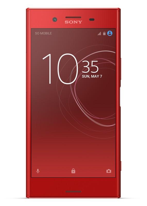 poza telefon mobil smartphone rosu Sony Xperia XZ Premium Rosso