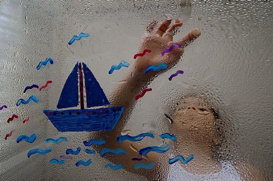 poza copil desen barca fotograf turc Kenan TAŞPINAR