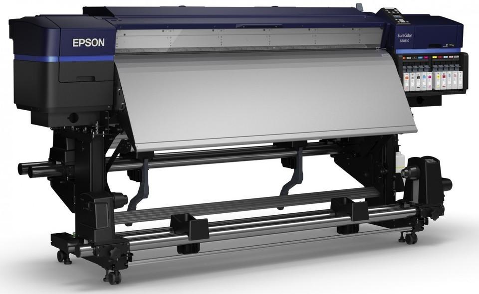 poza imprimanta epson SC-S80610 cerneala solvent