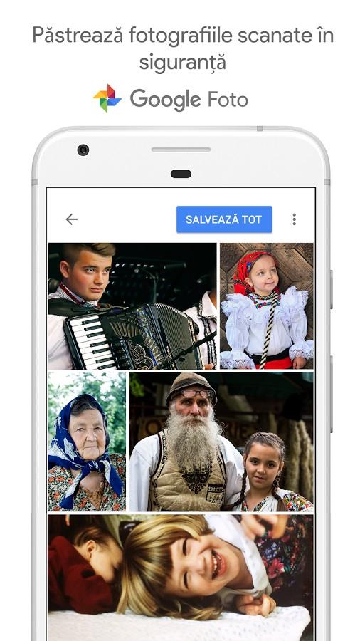 app aplicatie program gratuit scanare poze