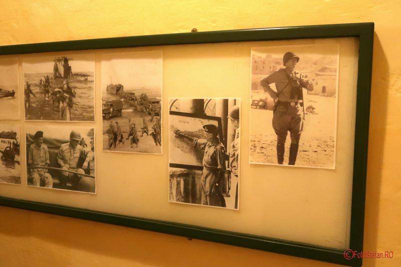 poza generalul Eisenhower invazia siciliei Husky
