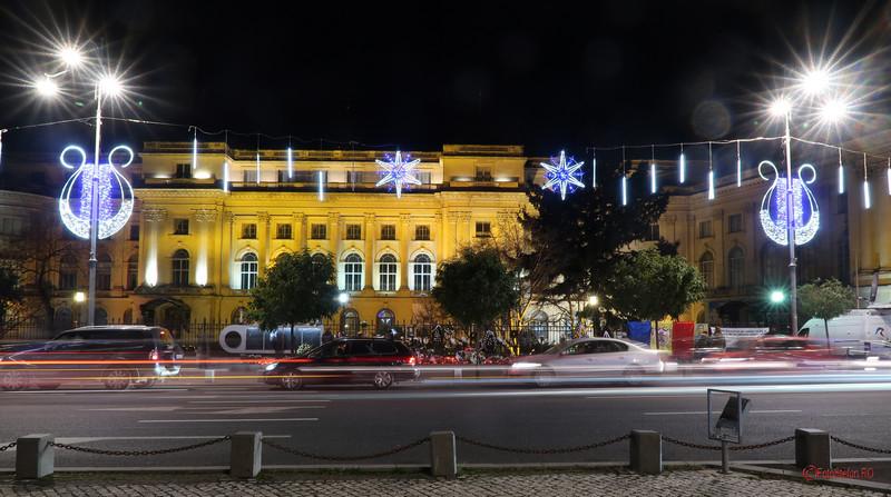 poza luminite craciun 2017 calea victoriei palatul regal muzeul national de arta bucuresti
