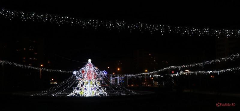 poza bard craciun iluminat festiv parc titan ior bucuresti