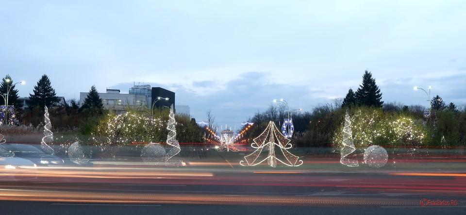poze fotografii luminite craciun bucuresti piata charles de gaulle