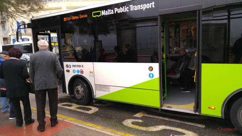 poza autobuz malta public transport
