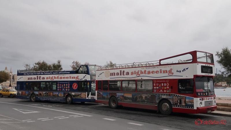poza autobuze malta sightseeing
