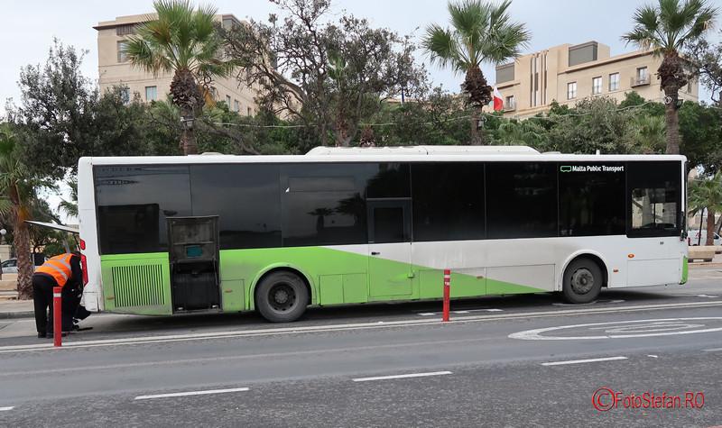 poza autobuz transport public malta