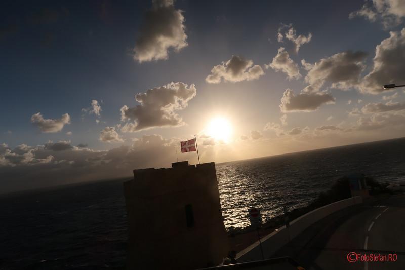 poza coasta Malta golf mare nori