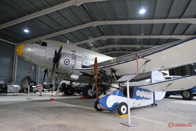 poze avion Le Pou du Ciel Douglas C-47 Dakota muzeul aviatiei malta