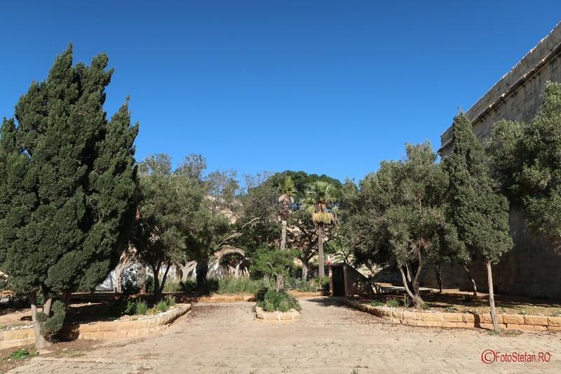 poza parc Upper Barrakka Gardens malta Valletta