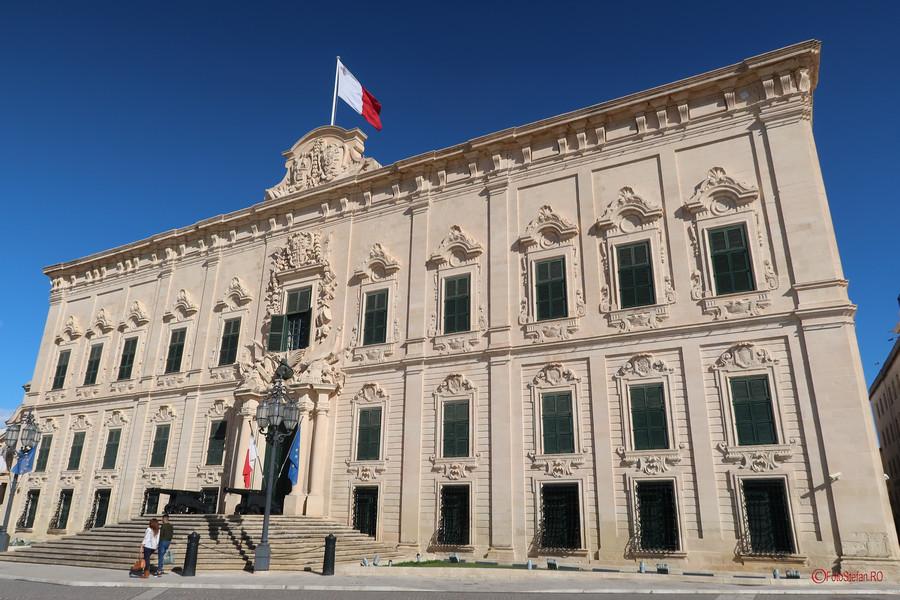 fotografie arhitectura Auberge Castille valletta malta