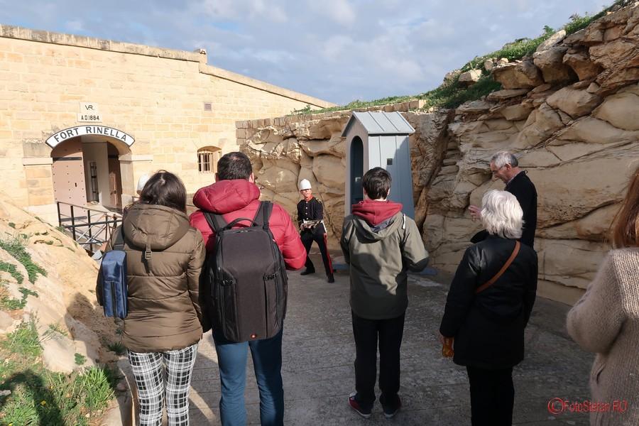 reenactment fort rinella malta obiectiv turistic