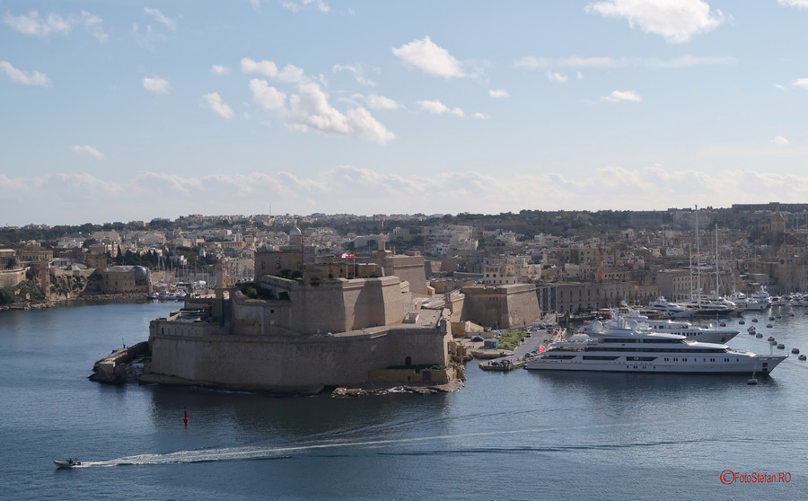 poza fotografie Fortul Saint Angelo calatorie malta