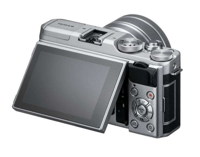 poza lcd rabatabil Fujifilm X-A5 aparat foto mirrorless