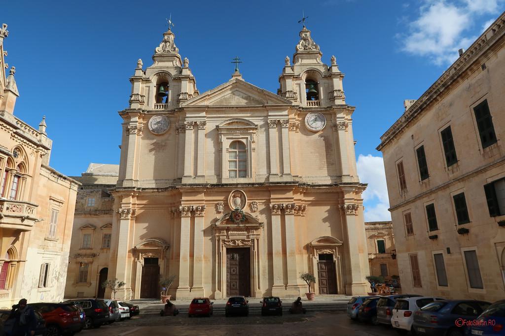 poza fotografie Catedrala St Paul Mdina Malta