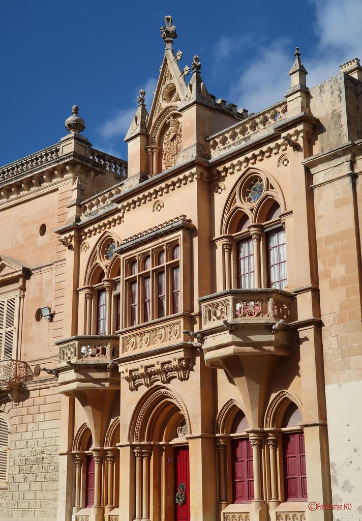 fotografie calatorie mdina Palatul Inguanez malta