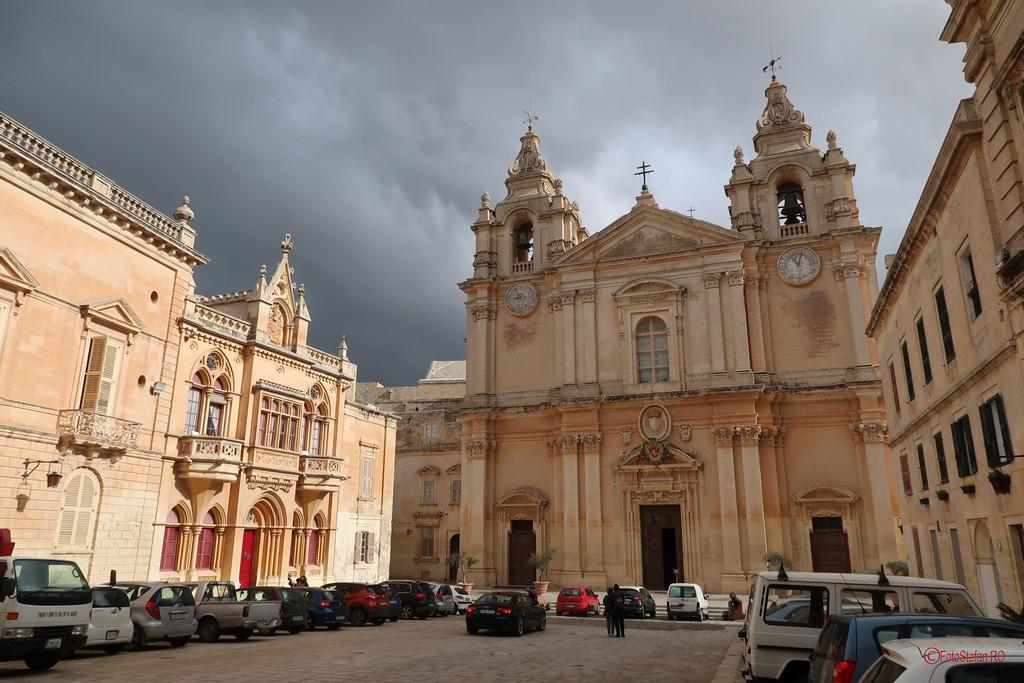 poze fotografie Catedrala St Paul Pavel Petre Mdina Malta