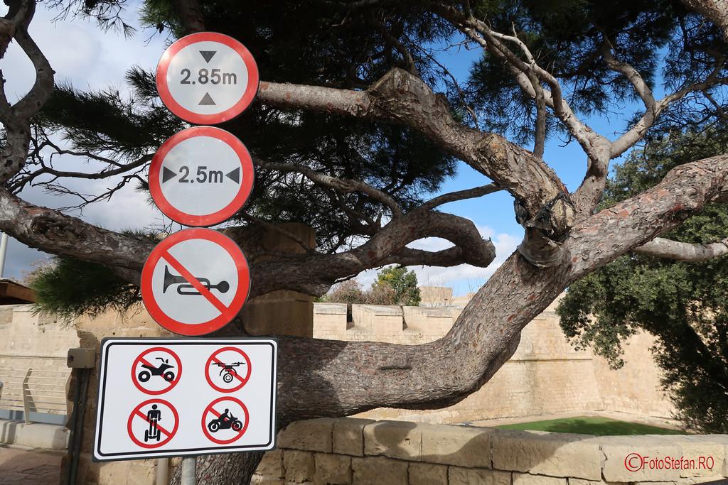 poza afis semn interzicere drone segway atv mdina orasul tacerii