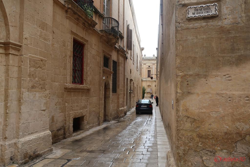poze strazi inguste orasul tacerii mdina malta