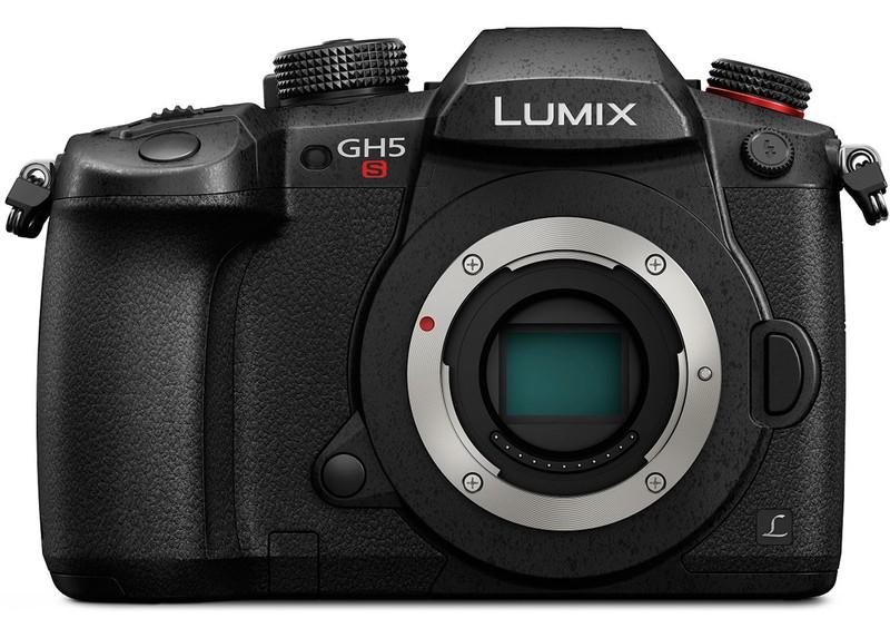poza senzor aparat foto mirrorless Panasonic Lumix DMC-GH5S
