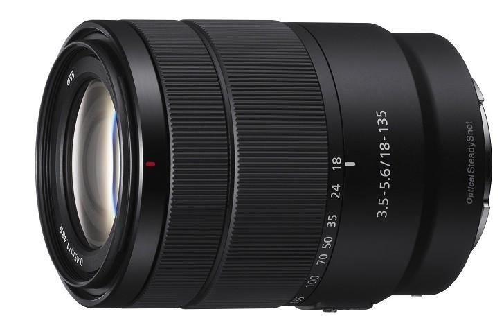 poza obiectiv mirrorless Sony 18-135mm f/3.5-5.6 OSS (SEL18135)