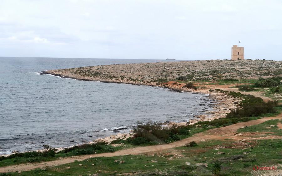 poza fotografie turn aparare insula malta