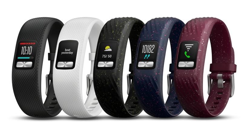 poza bratri fitness Garmin Vivofit 4 ecran color baterie 1 an