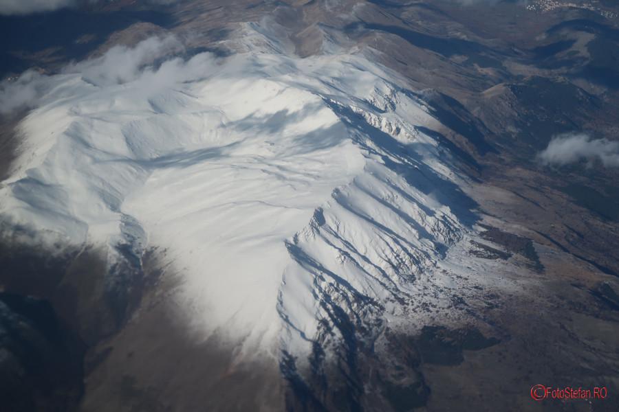 fotografie aeriana poza munte Canon G7 X Mark II