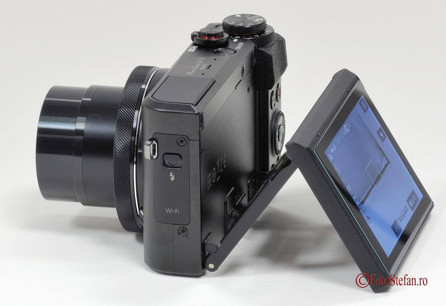 lcd rabatabil mobil Canon G7 X Mark II