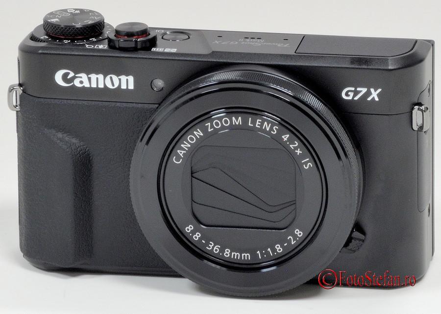 poza aparat foto compact Canon PowerShot G7 X Mark II