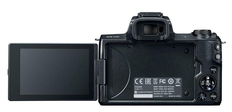 Canon EOS M50 lcd touchscreen rabatabil