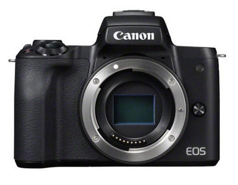 poza senzor aparat foto mirrorless Canon EOS M50