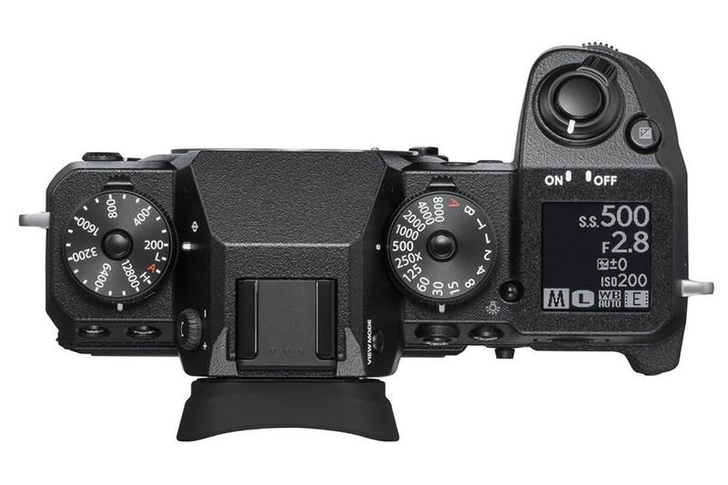 Fujifilm X-H1 ergonomie design