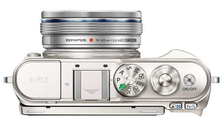 butoane aparat foto mirrorless Olympus PEN E-PL9