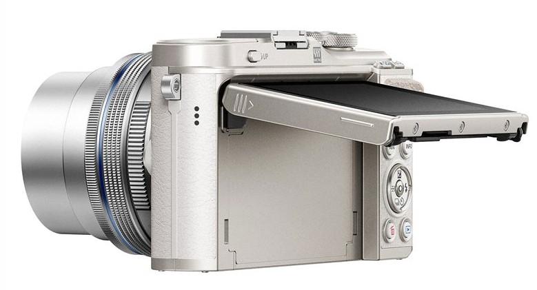 mirrorless argintiu lcd mobil Olympus PEN E-PL9