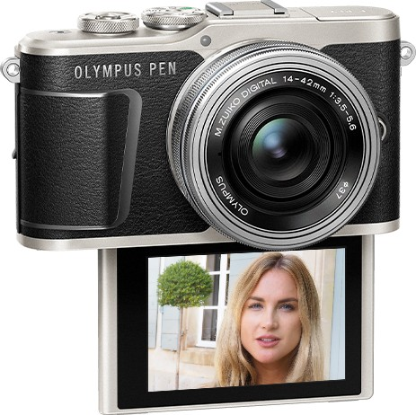 lcd selfie mode Olympus PEN E-PL9