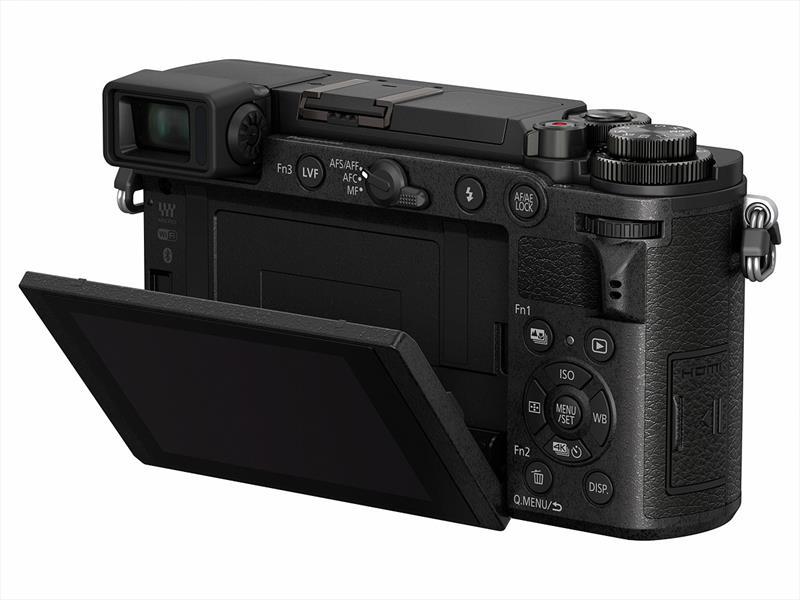 poza lcd mobil mirrorless Panasonic GX9
