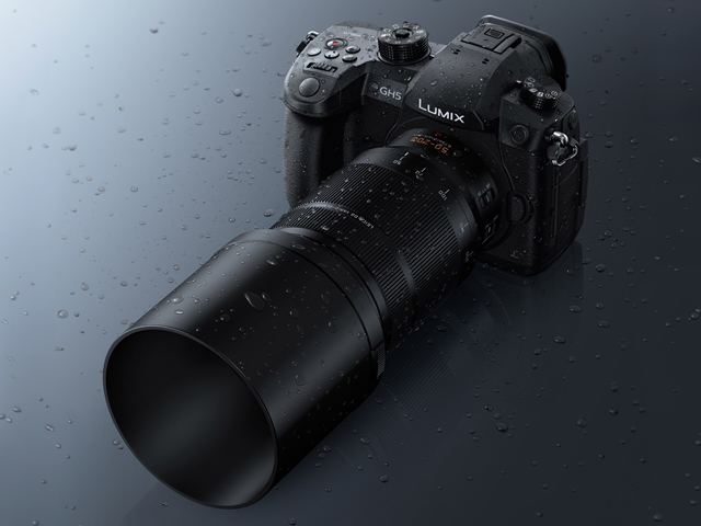 poza parat foto mirrorless panasonic zoom Panasonic Leica DG Vario-Elmarit 50–200mm f/2.8-4 ASPH