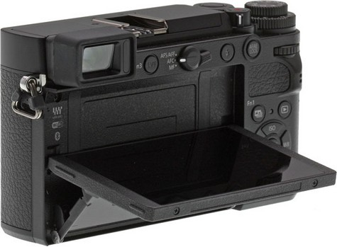 lcd mobil aparat foto mirrorless Panasonic GX9