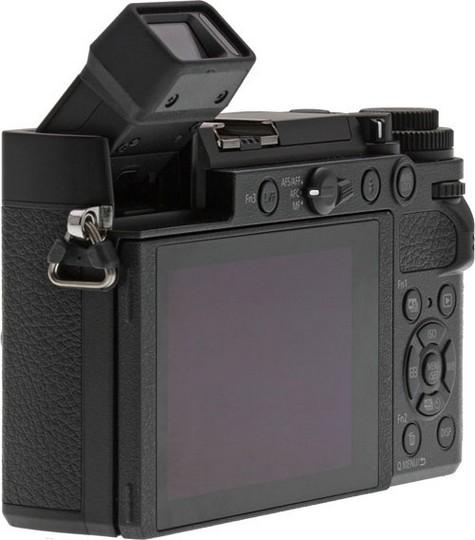 vizor mobil aparat foto mirrorless Panasonic GX9