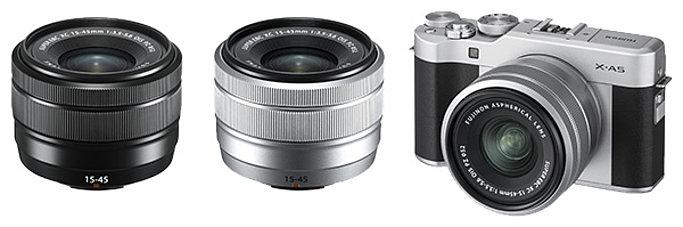 poza obiective mirrorless Fujifilm XC 15-45mm f/3.5-5.6 OIS