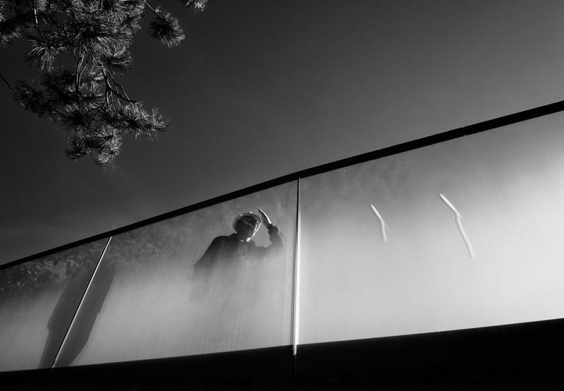 fotografie strada ceata pod batran