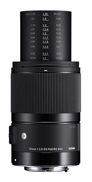 poza obiectiv sigma 70mm F2.8 DG MACRO